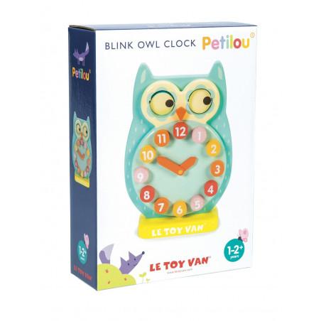 Le Toy Van Petilou - Hodiny sovička