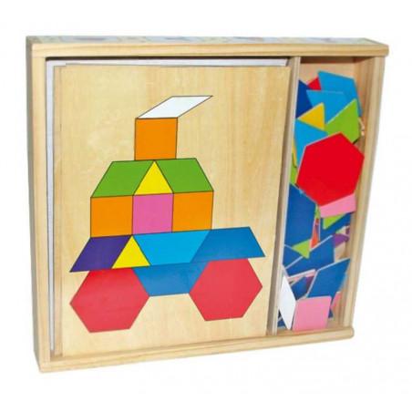 Small Foot by Legler Dřevěná mozaika v krabičce