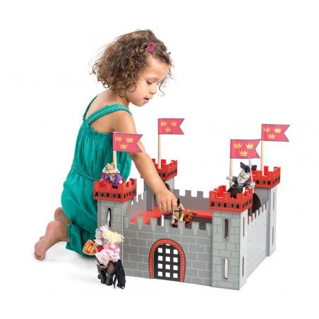 Le Toy Van Můj první hrad červený