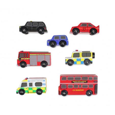 Le Toy Van set autíček London