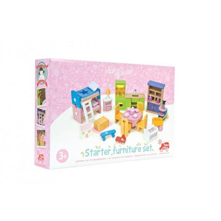 Le Toy Van nábytek - Kompletní set do domečku Starter