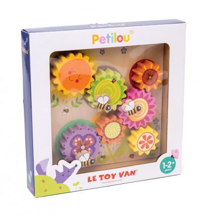 Le Toy Van Petilou - Ozubená kola včelka