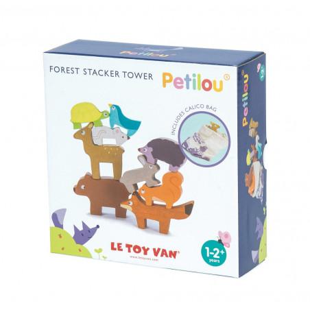 Le Toy Van Petilou - Skládací věž zvířátka
