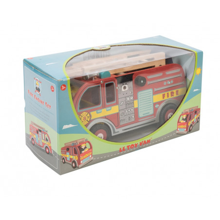 Le Toy Van Hasičské vozidlo s příslušenstvím