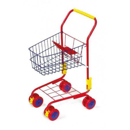 Legler nákupní vozík červený