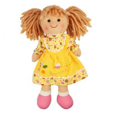 Bigjigs Toys látková panenka Daisy 28 cm