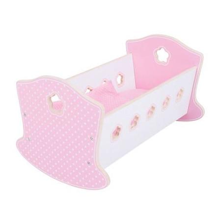 Bigjigs Toys - Dřevěná kolébka pro panenky