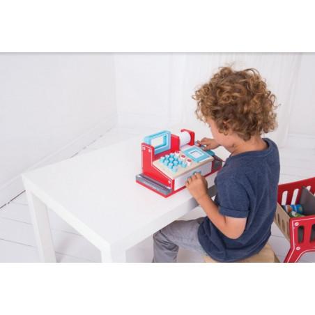 Bigjigs Toys Dřevěná hračka - Pokladna