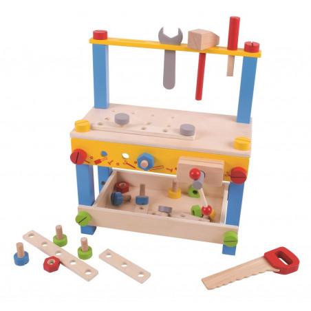 Bigjigs Toys Můj první pracovní stůl