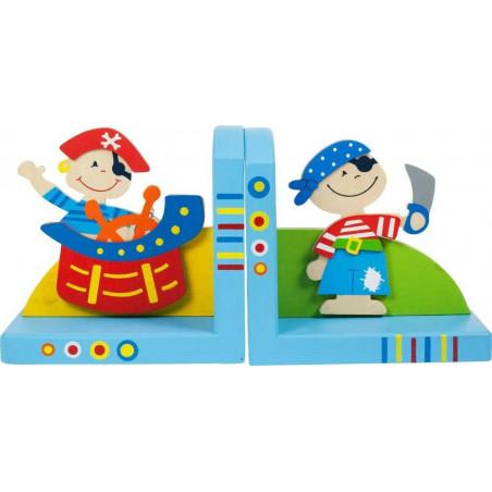 Bigjigs Toys Opěrky knih - Piráti - sada 2 ks