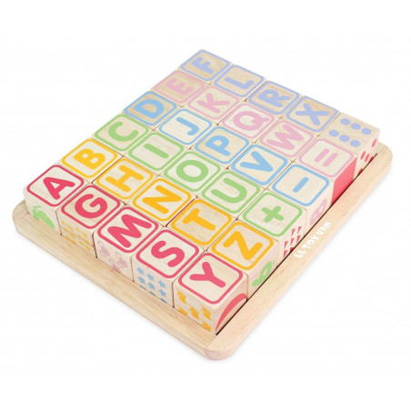 Le Toy Van Petilou Kostky abeceda