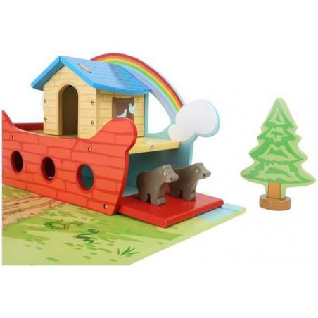 Legler Hrací set dřevěná Noemova archa