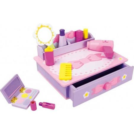 Legler Dřevěné hračky - Toaletní stolek Mašle