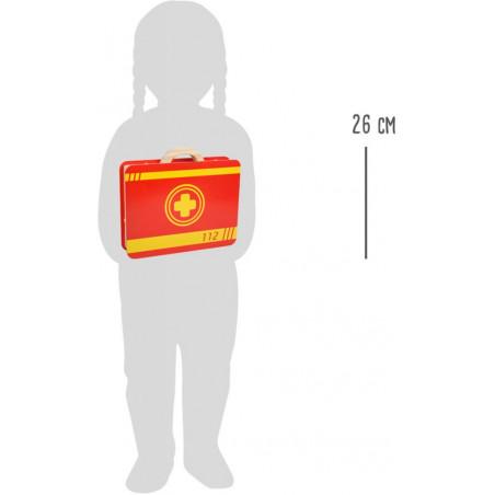 Small Foot Záchranářský set v kufříku