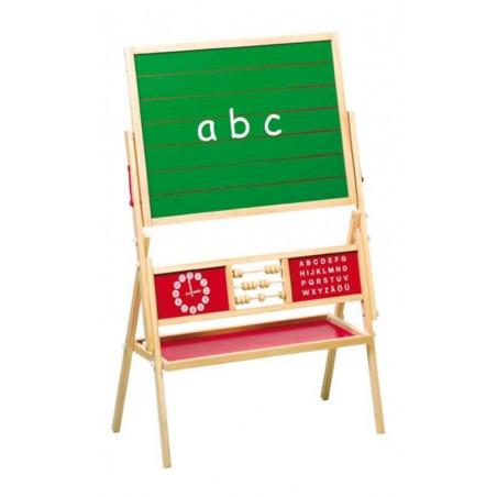 Legler Dřevěné hračky - Dětská multifunkční tabule
