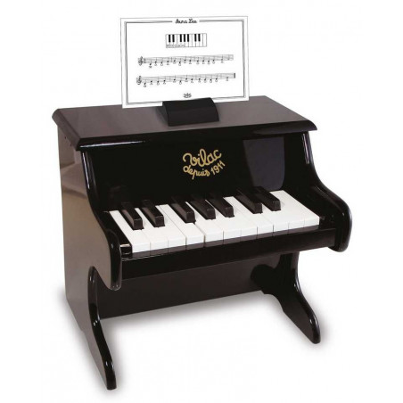Vilac Dětské hudební nástroje Klavír černý