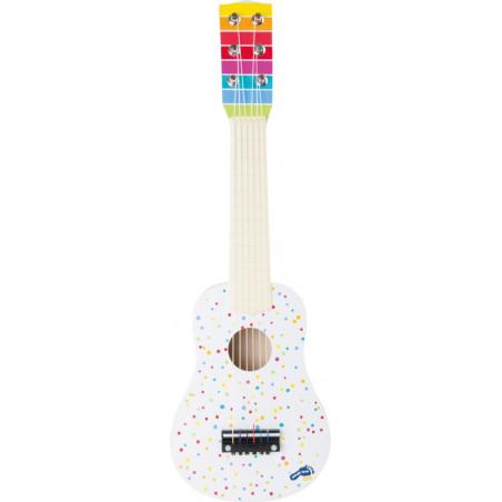 Legler Dřevěná kytara s puntíky