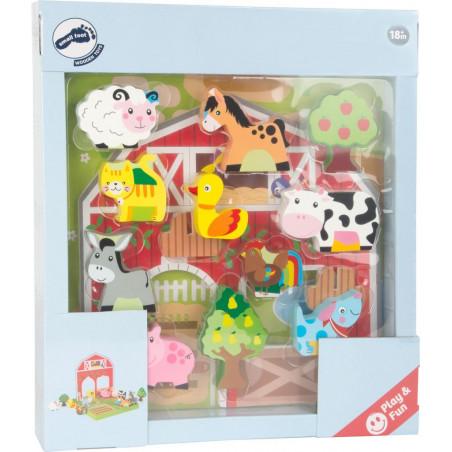 Legler Dřevěná hračka - Farma se zvířátky