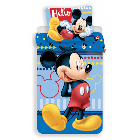 Povlečení Mickey 004 Hello 140x200, 70x90 cm