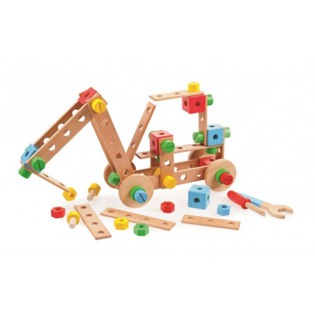 Tidlo dřevěná skládací stavebnice
