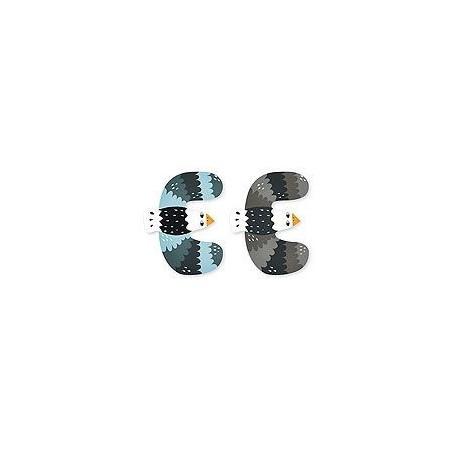 Vilac Zvířátková abeceda 1ks písmenko E