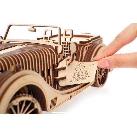 Ugears 3D mechanické puzzle Roadster VM-01 437 dílů
