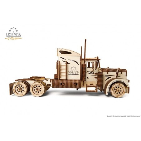 Ugears 3D mechanické puzzle Heavy Boy kamion VM-03 541 dílů