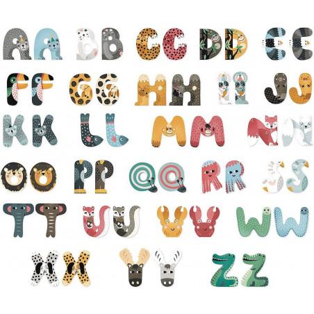 Vilac Zvířátková abeceda 1ks písmenko L