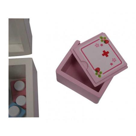 Legler Dřevěná hračka - Dětský dřevěný doktorský kufřík Isabel