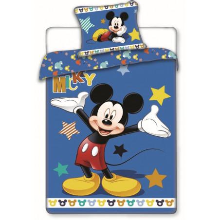 Povlečení Mickey star 140x200, 70x90 cm