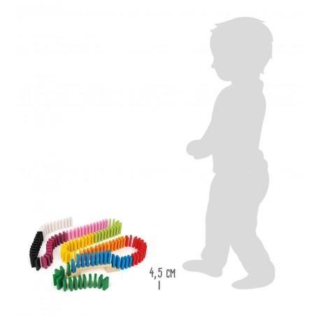 Small Foot by Legler domino dráha Maxi