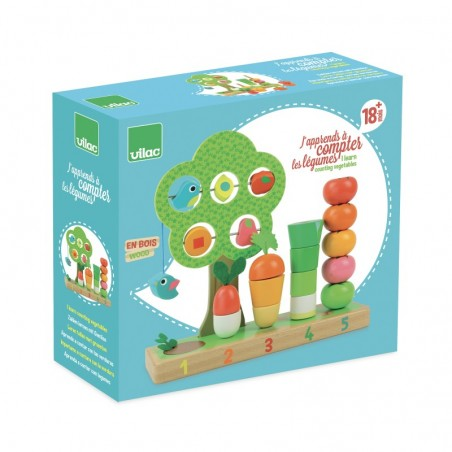 Vilac dřevěná multifunkční hračka Zahrádka