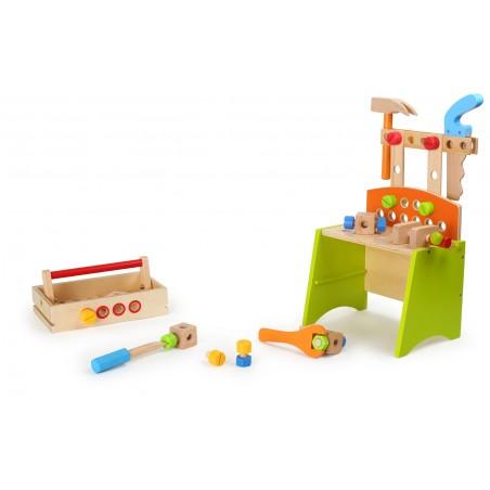 Small Foot by Legler Dřevěné hračky - Dílenský stůl Deluxe
