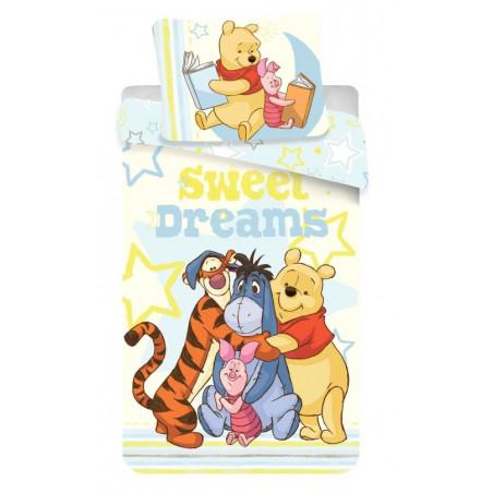 Povlečení Medvídek Sweet dreams 140x200, 70x90 cm