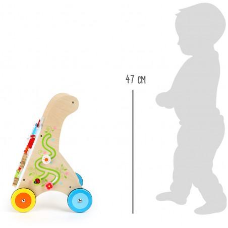 Small Foot by Legler dřevěné veselé chodítko Viva