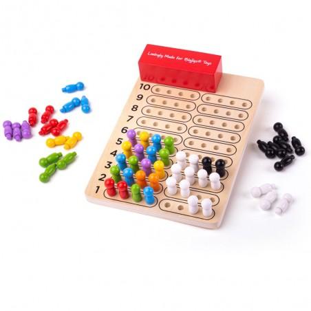 Bigjigs dřevěná hra Logik