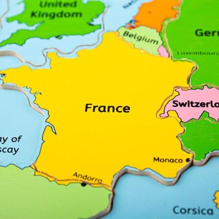 Bigjigs Puzzle mapa Evropy 25 dílků