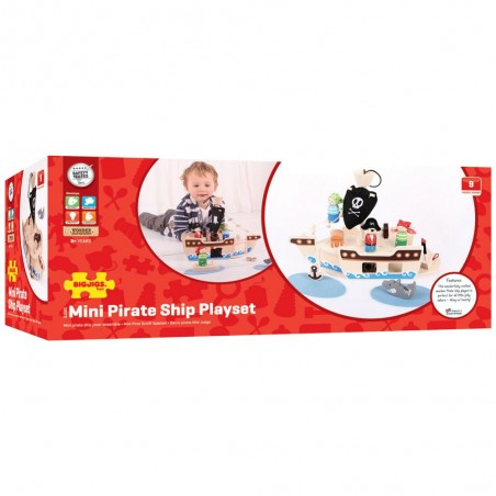 Bigjigs Toys Hrací set Piráti
