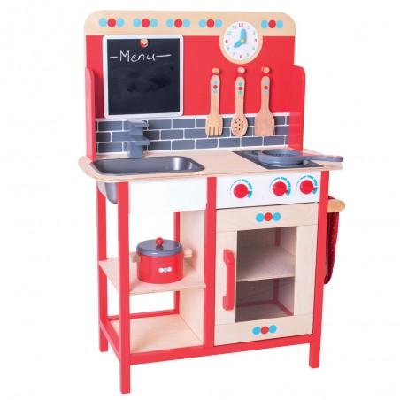 Bigjigs dřevěná kuchyňka