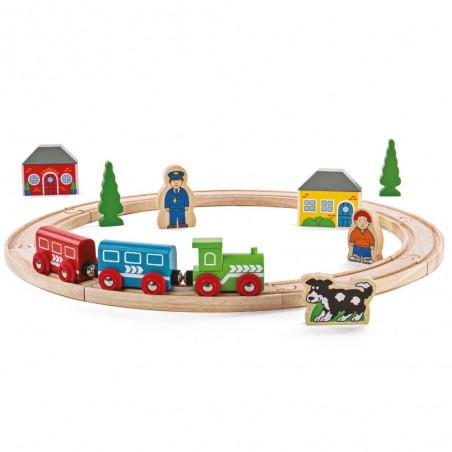 Bigjigs Rail Moje první vláčkodráha
