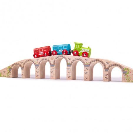 Bigjigs Dlouhý železniční most