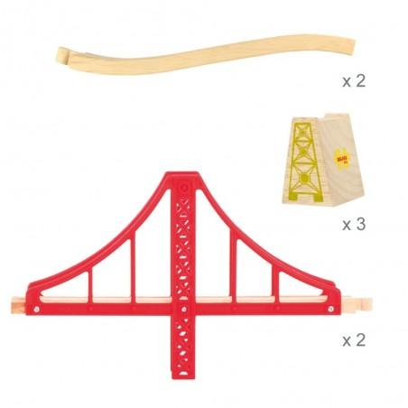 Bigjigs Dvojitý železniční most