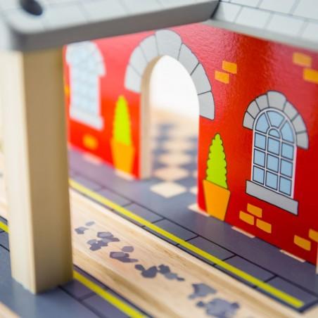 Bigjigs Dřevěné nádraží