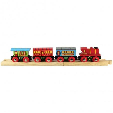 Bigjigs dřevěný osobní vlak
