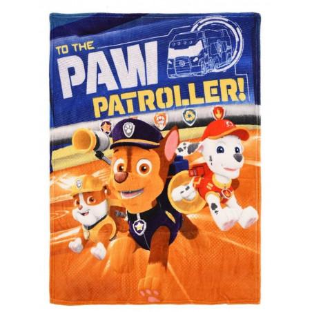 FLÍSOVÁ DEKA TLAPKOVÁ PATROLA hq 4352-2 The paw patroller