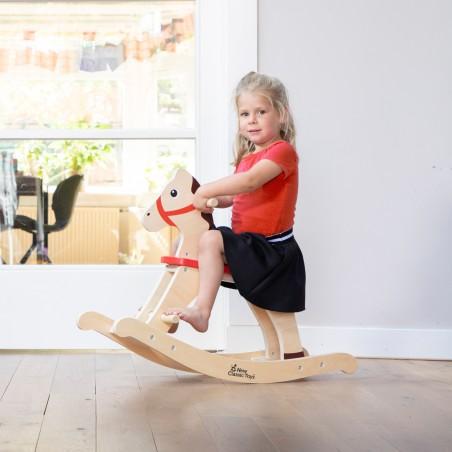 New Classic Toys Dřevěný houpací kůň