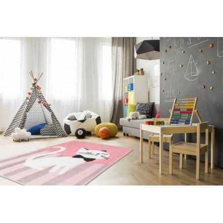 Dětský kusový koberec Lollipop 180 Kitten - DOPRAVA ZDARMA