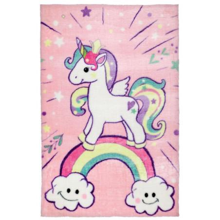 Dětský kusový koberec Lollipop 185 Unicorn - DOPRAVA ZDARMA