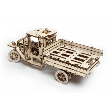 Ugears Dřevěná stavebnice 3D mechanické Puzzle Truck UGM 11