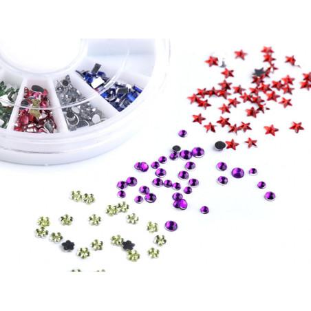 Sada plastových kamínků na scrapbooking 070947